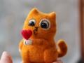кот Персик мини