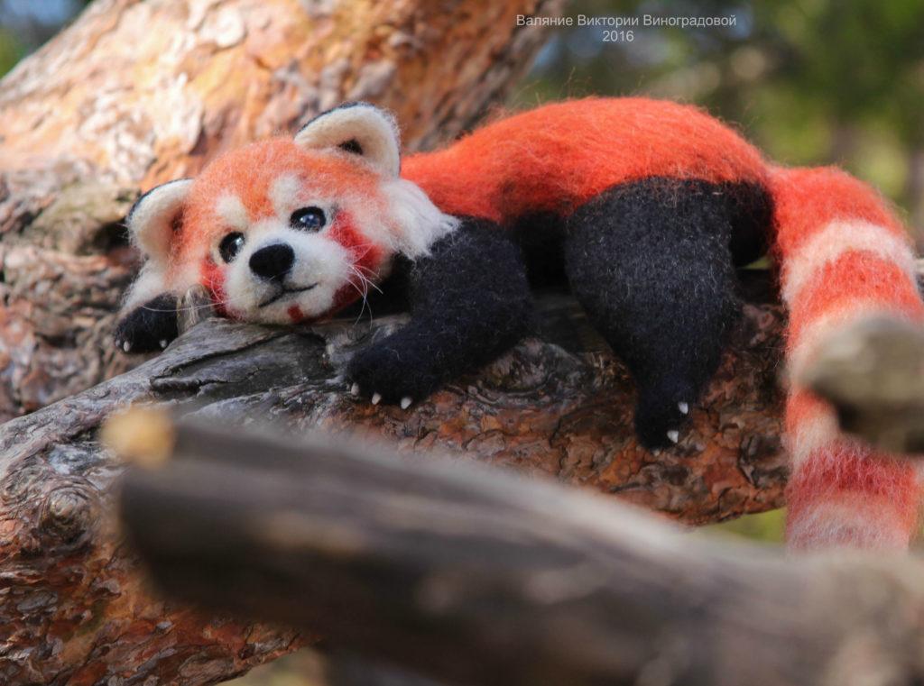 малая панда игрушка