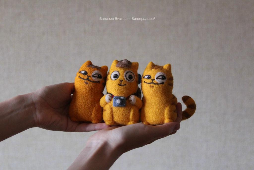 игрушки из шерсти валяние
