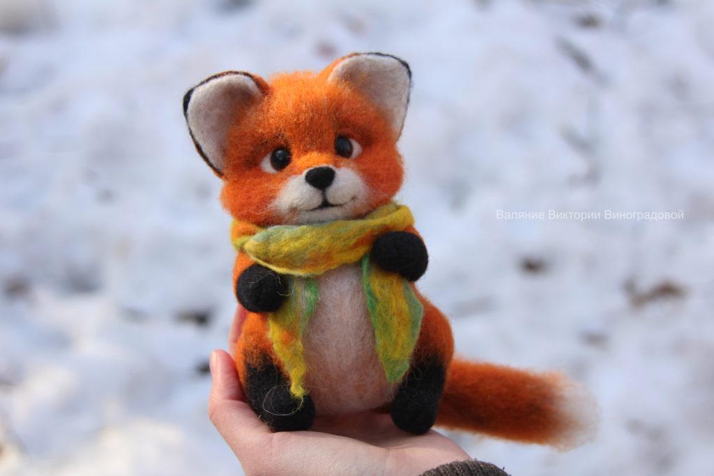 лисичка игрушка