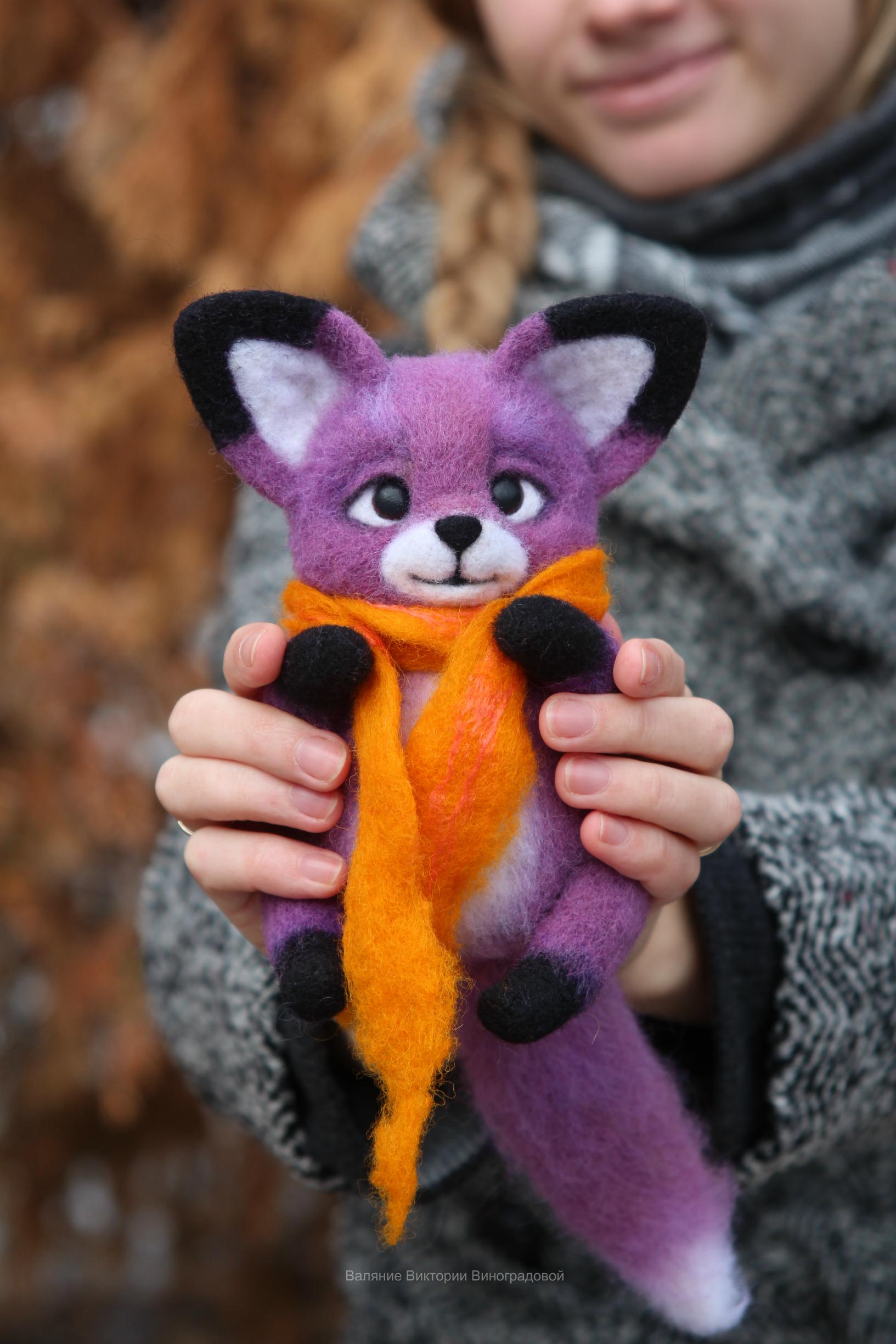 Валяная игрушка из шерсти
