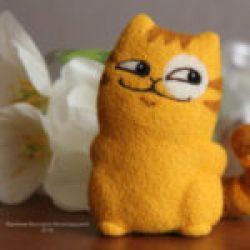 кот Персик игрушка